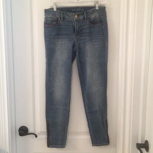Skimmer jeans from White House Black Market